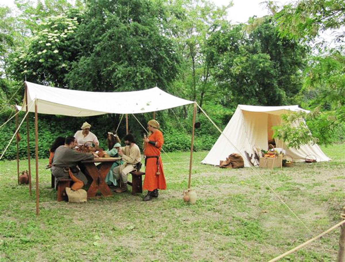 Accampamento-medievale