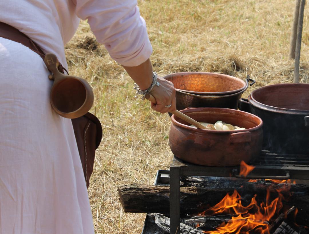 La-cena-sul-fuoco