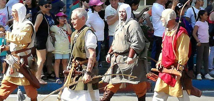 Gli Arcieri del Martello al Palio di Legnano