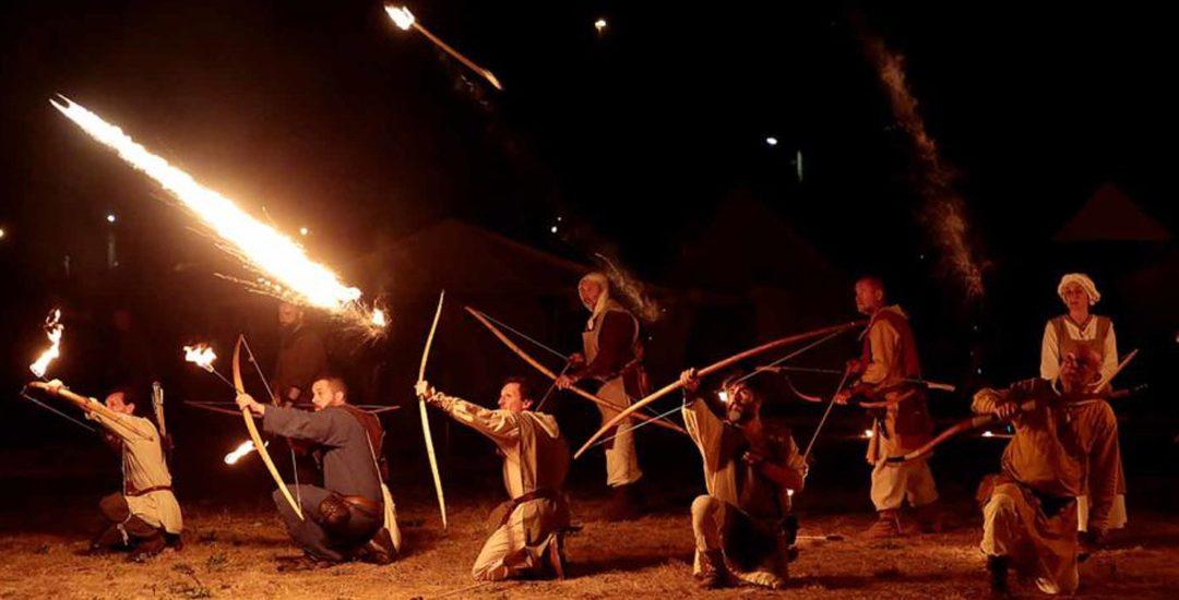 Gli Arcieri del Martello al Castello in Festa di Legnano
