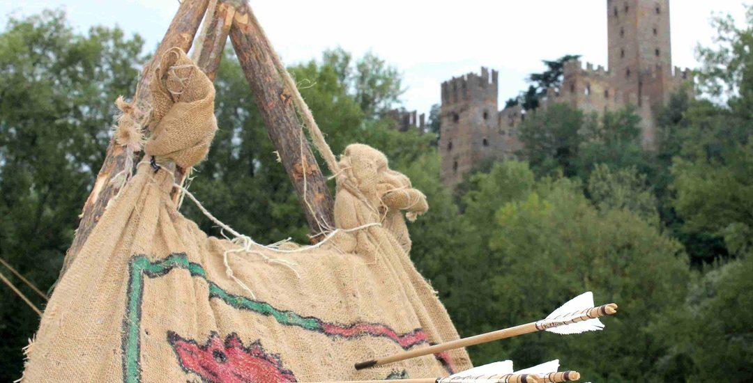 Gli Arcieri del Martello tornano a Castell'Arquato per Rivivi il Medioevo 2018.
