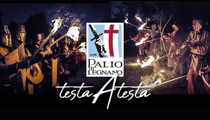 Palio di Legnano 2019 - testa a testa